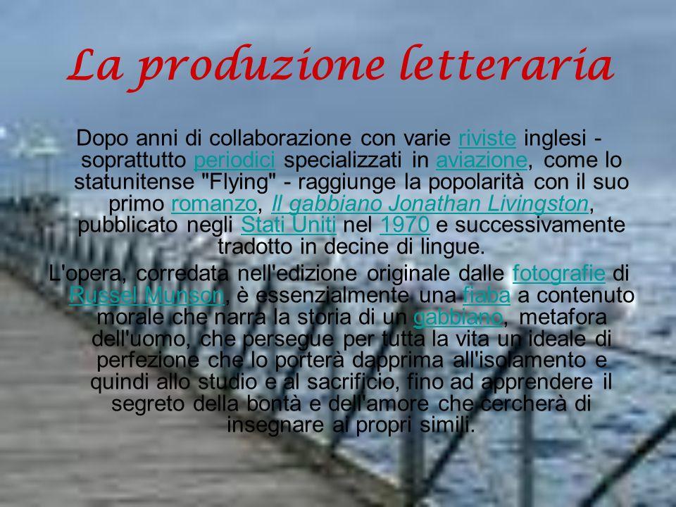 La produzione letteraria