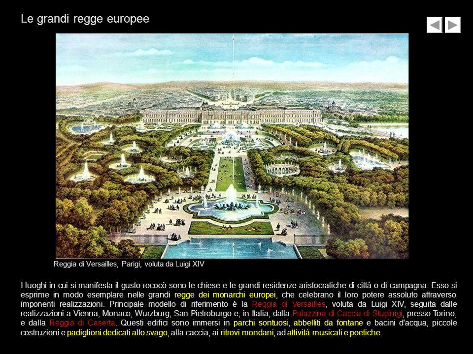 Le grandi regge europee
