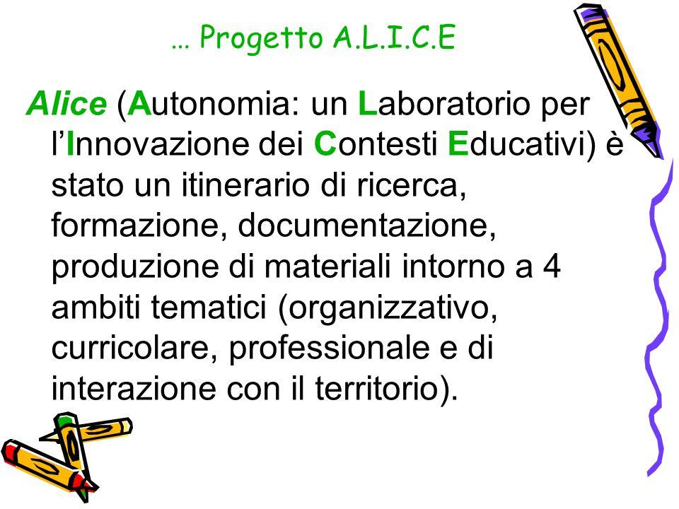 … Progetto A.L.I.C.E