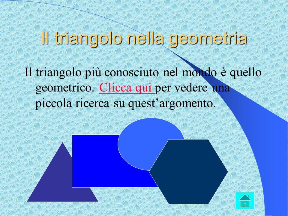 Il triangolo nella geometria