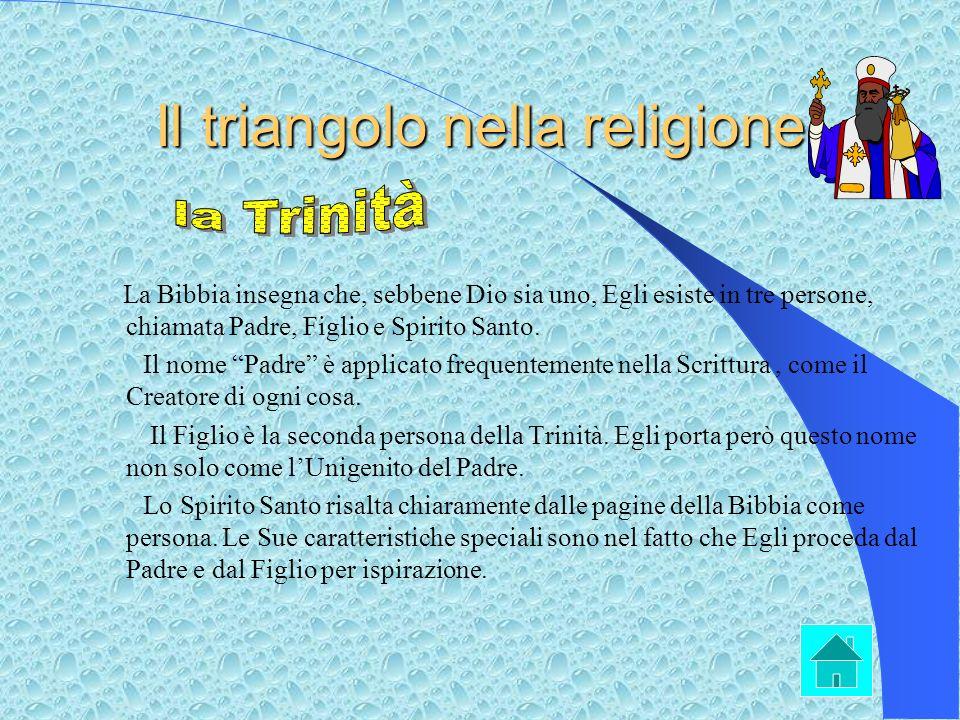 Il triangolo nella religione