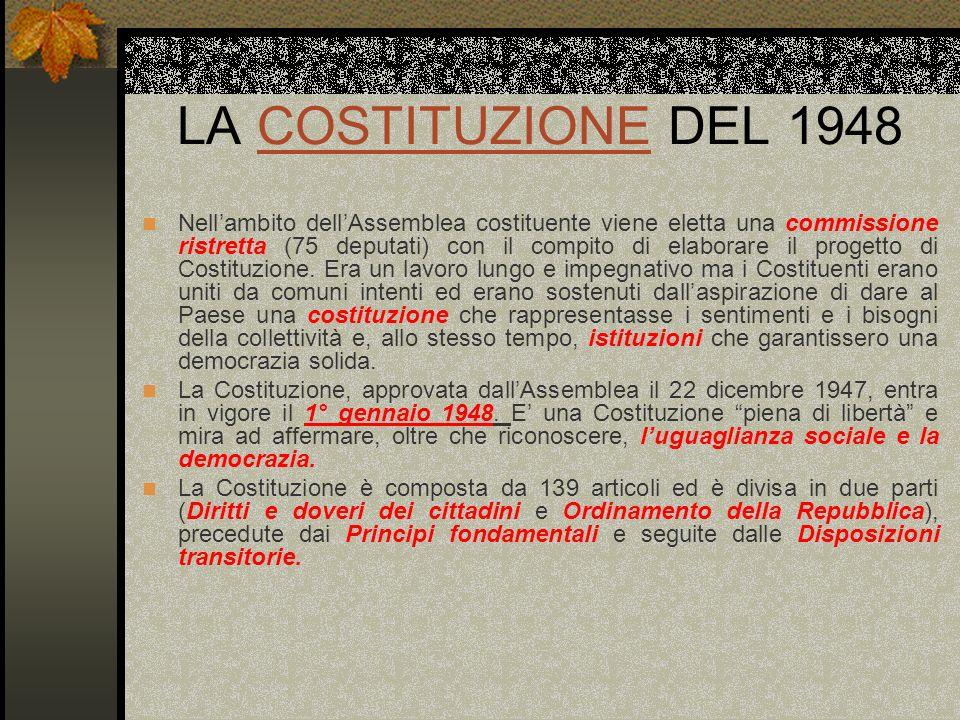 LA COSTITUZIONE DEL 1948