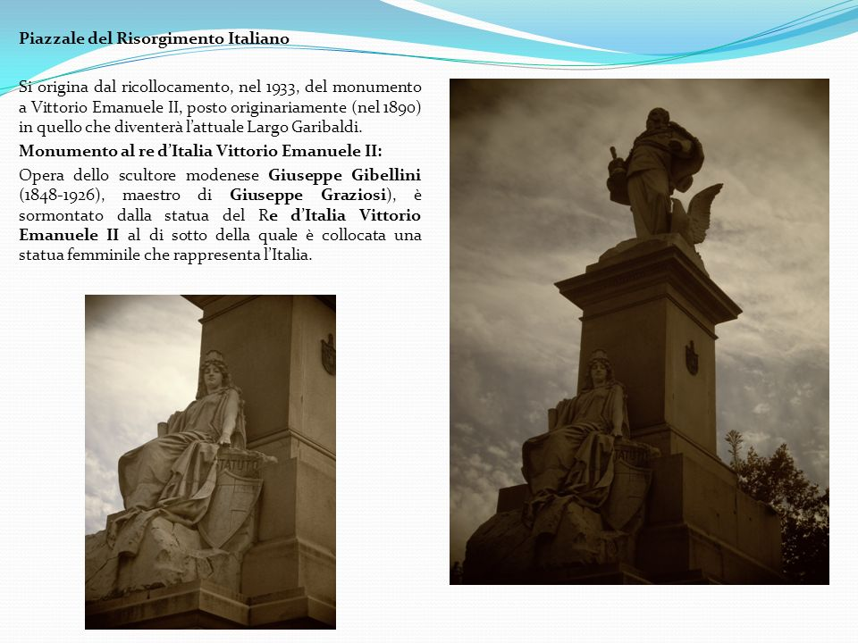 Piazzale del Risorgimento Italiano