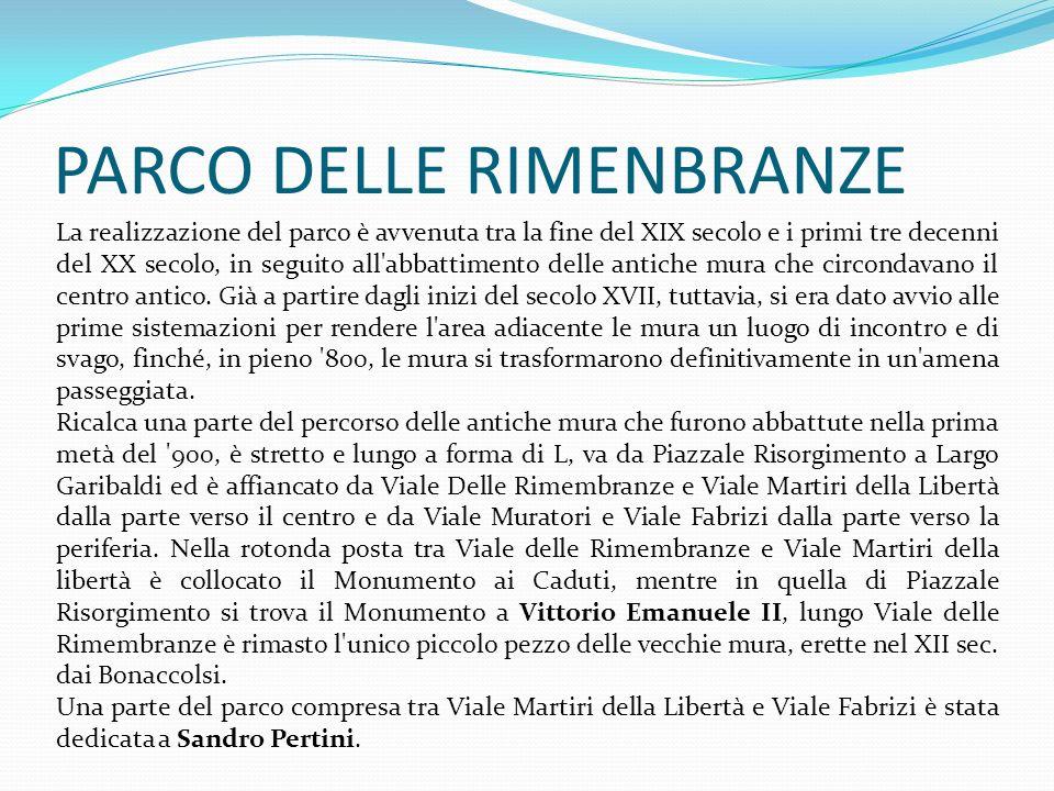 PARCO DELLE RIMENBRANZE