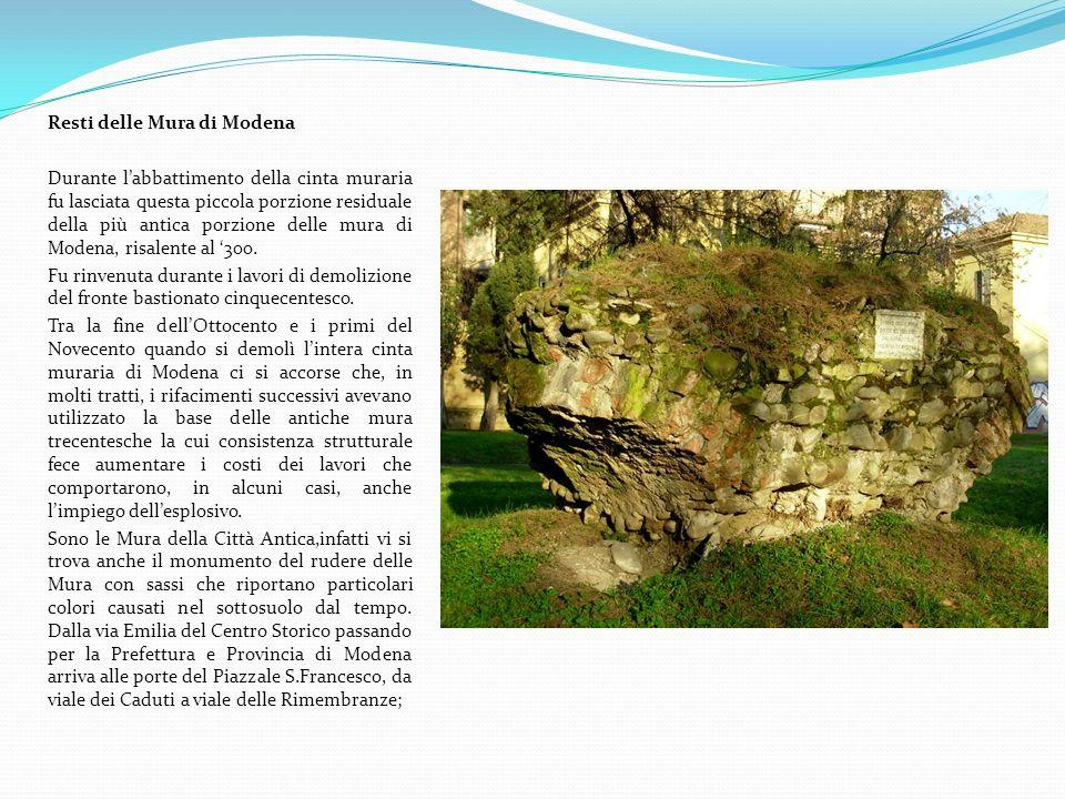Resti delle Mura di Modena