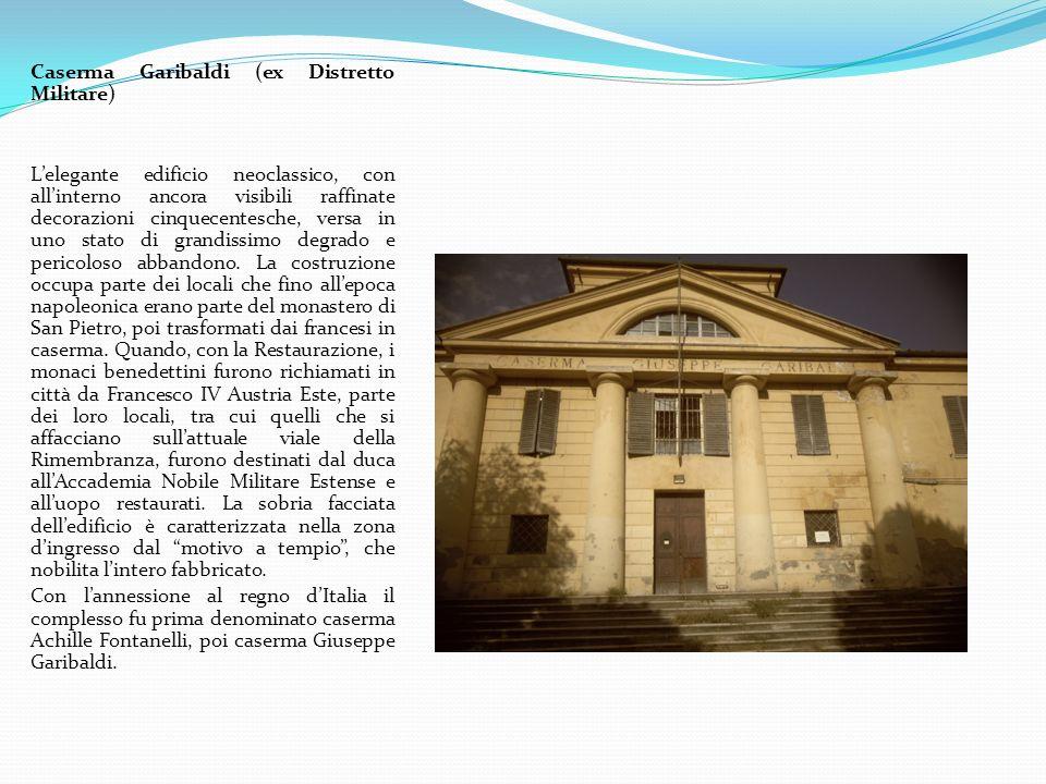 Caserma Garibaldi (ex Distretto Militare)