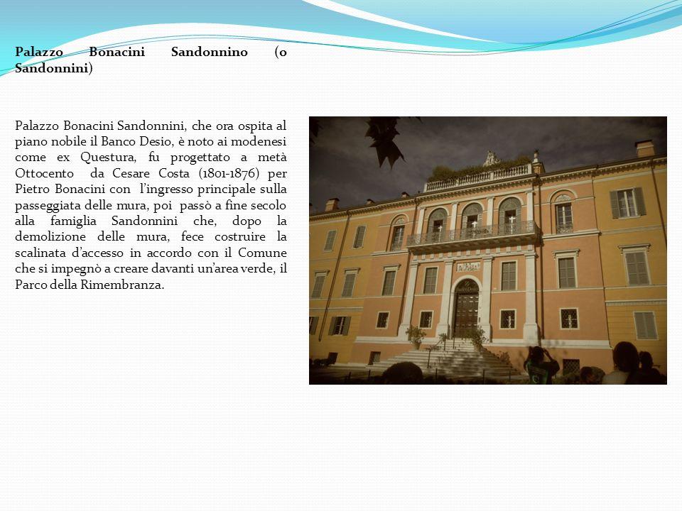 Palazzo Bonacini Sandonnino (o Sandonnini)