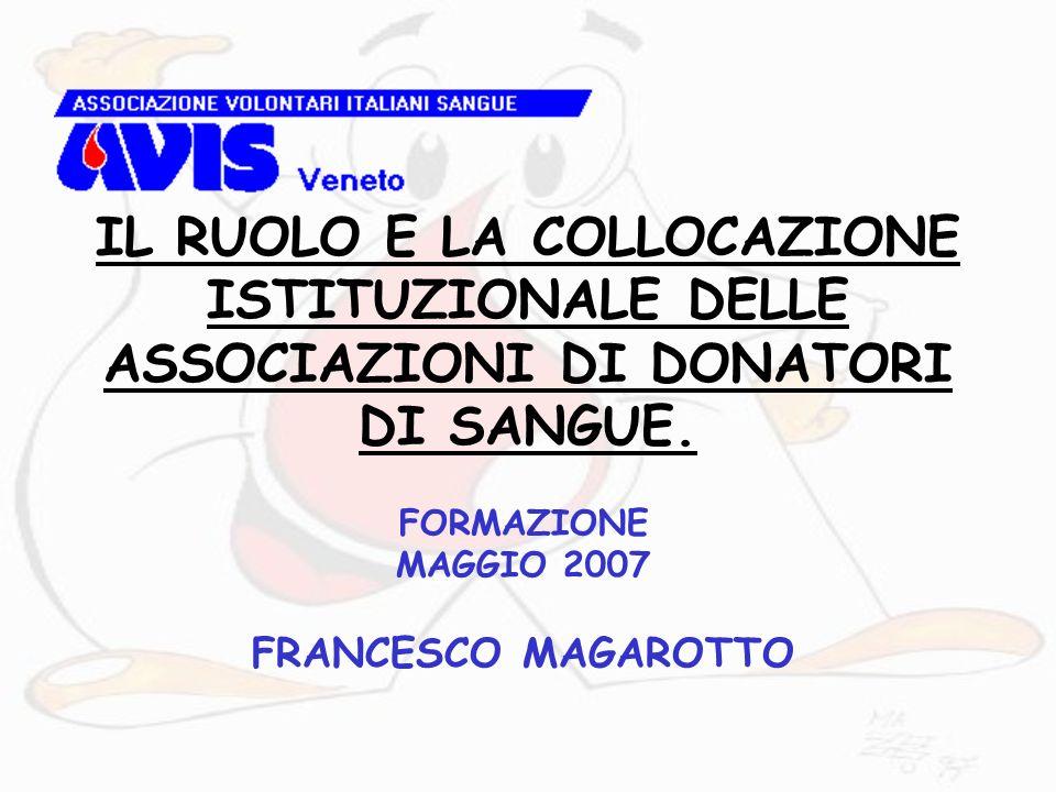 FORMAZIONE MAGGIO 2007 FRANCESCO MAGAROTTO