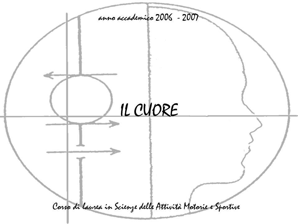 IL CUORE anno accademico 2006 - 2007