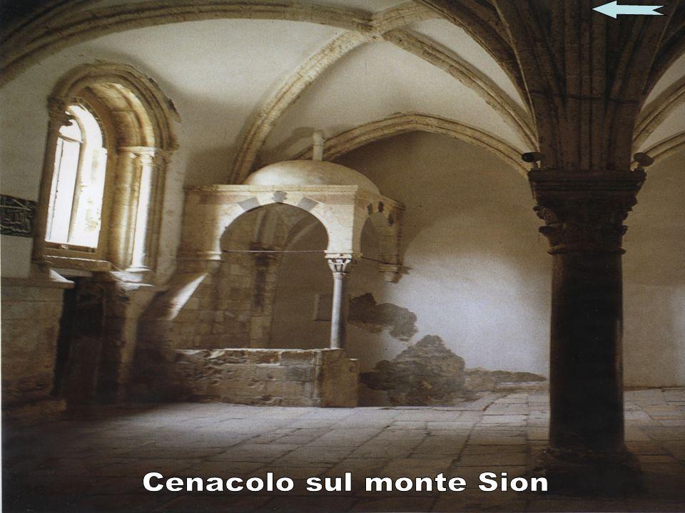 Cenacolo sul monte Sion