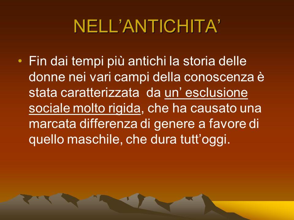 NELL'ANTICHITA'