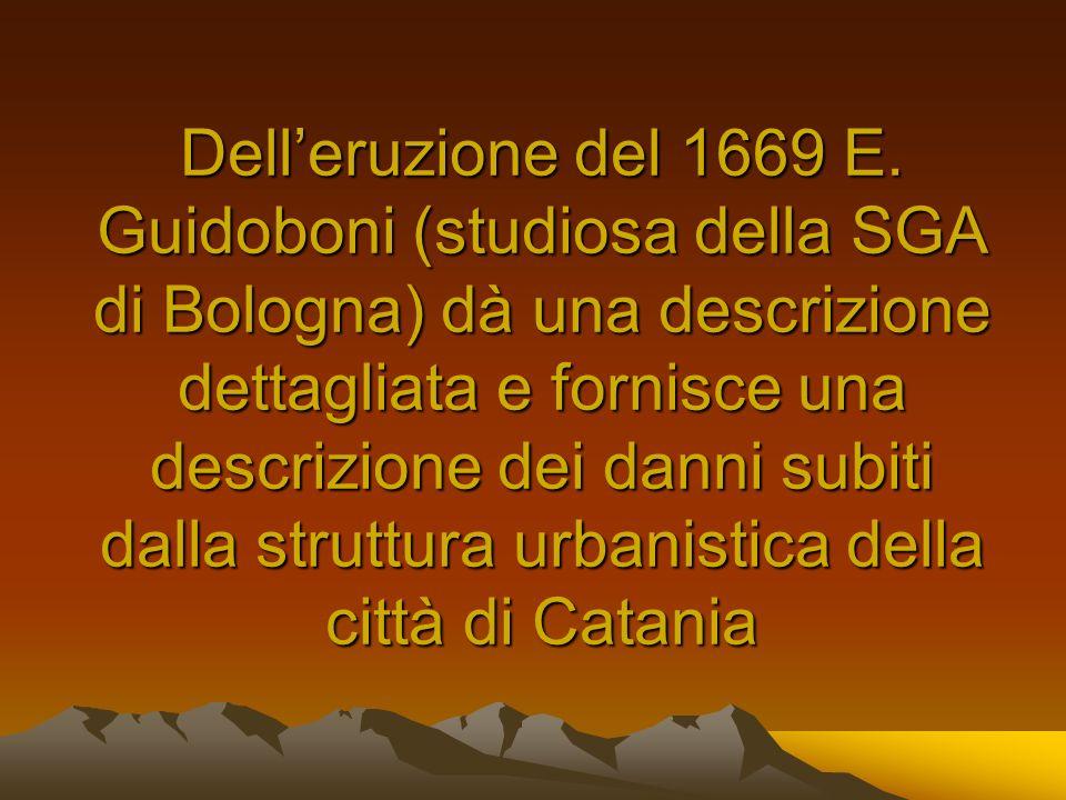 Dell'eruzione del 1669 E.