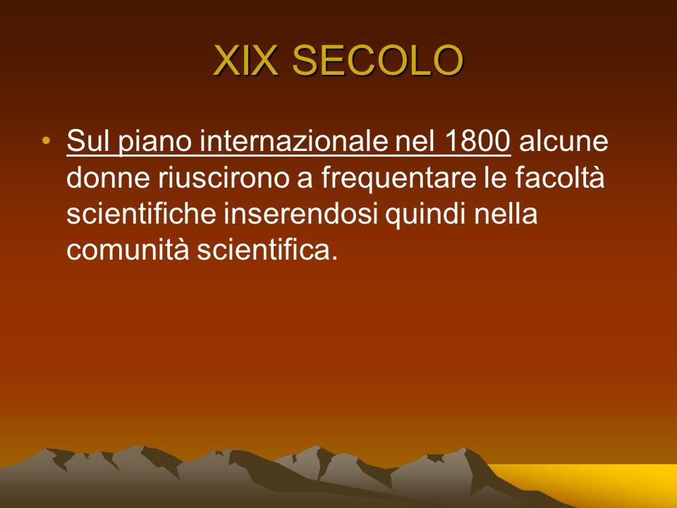 XIX SECOLO
