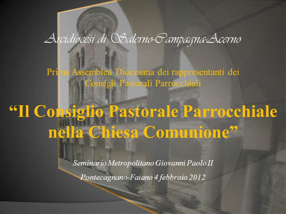 Arcidiocesi di Salerno-Campagna-Acerno
