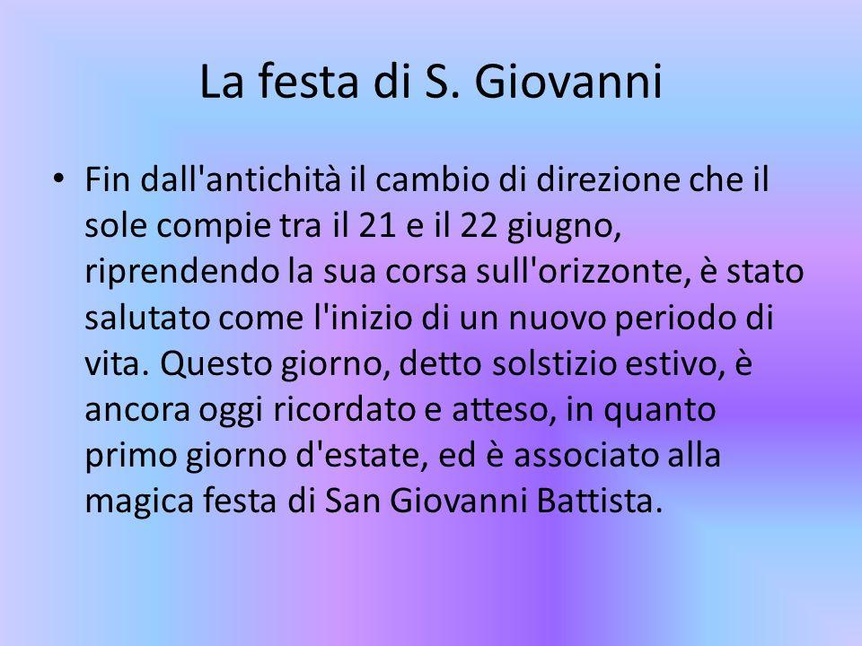 La festa di S. Giovanni