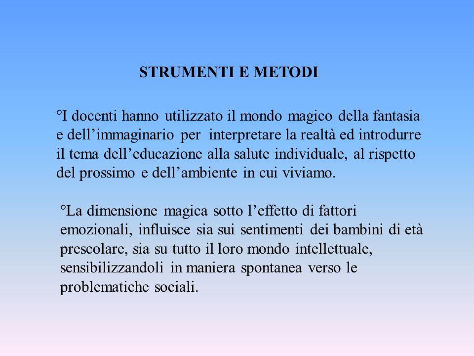 STRUMENTI E METODI