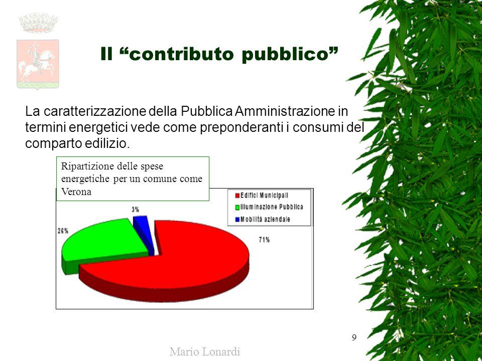 Il contributo pubblico