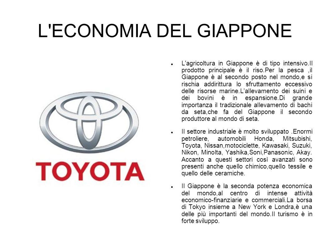 L ECONOMIA DEL GIAPPONE