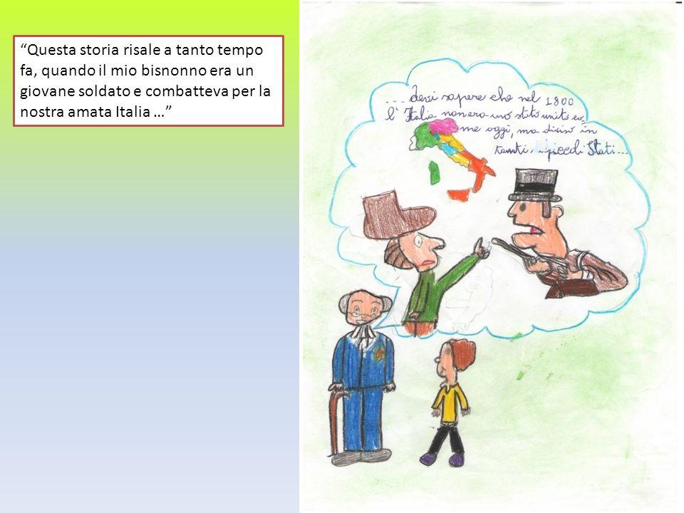 Questa storia risale a tanto tempo fa, quando il mio bisnonno era un giovane soldato e combatteva per la nostra amata Italia …