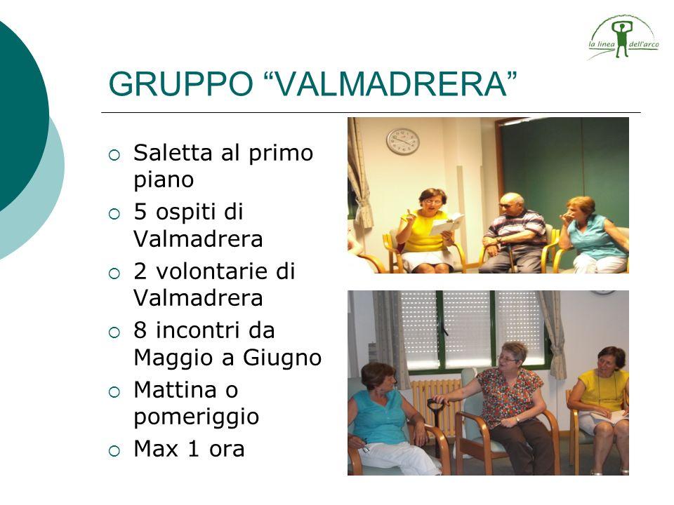 GRUPPO VALMADRERA Saletta al primo piano 5 ospiti di Valmadrera