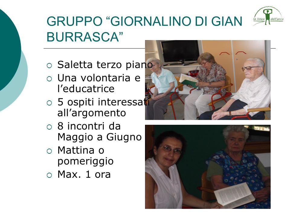 GRUPPO GIORNALINO DI GIAN BURRASCA