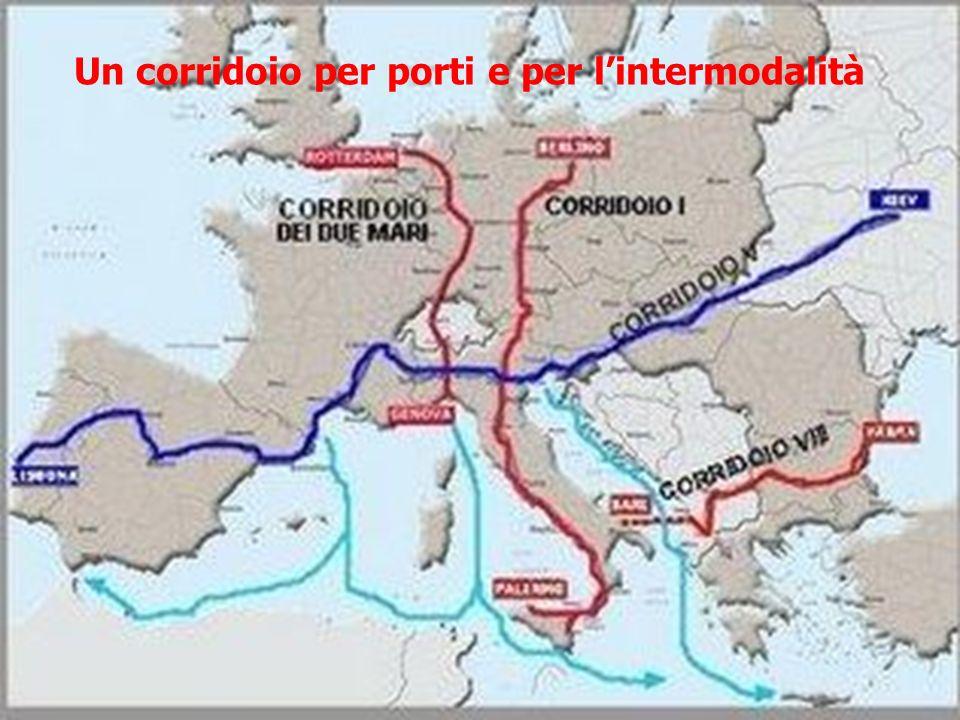Un corridoio per porti e per l'intermodalità