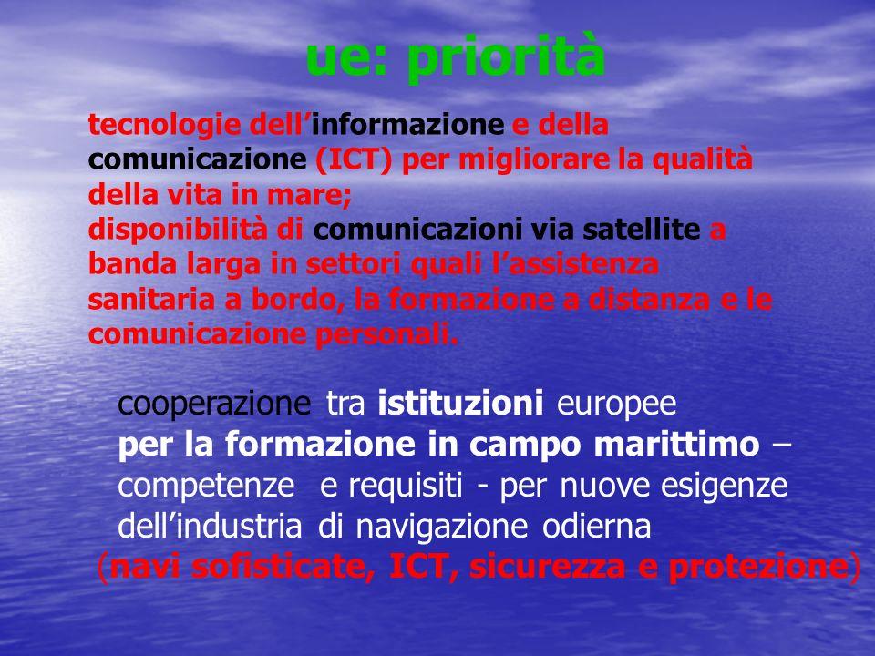 ue: priorità cooperazione tra istituzioni europee