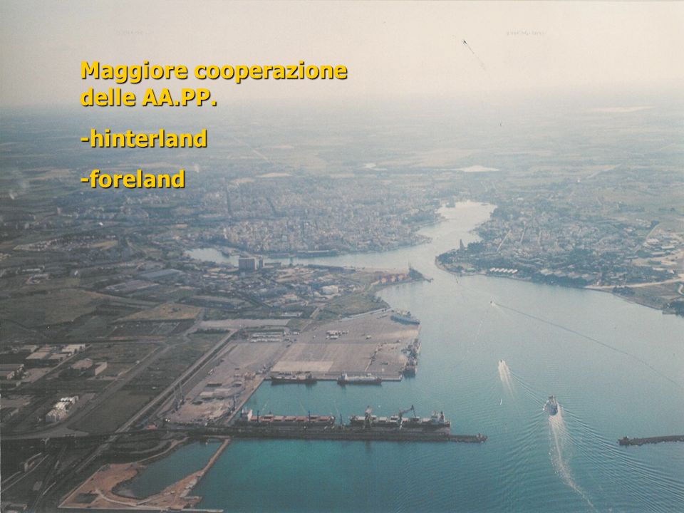 Maggiore cooperazione delle AA.PP.