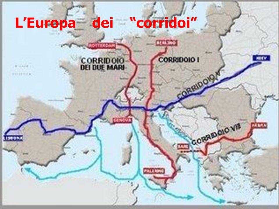 L'Europa dei corridoi