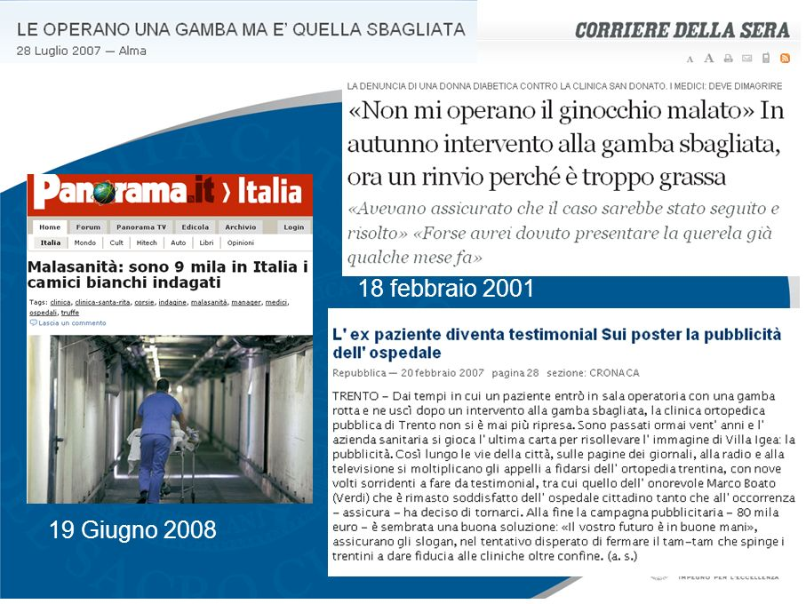 18 febbraio 2001 19 Giugno 2008