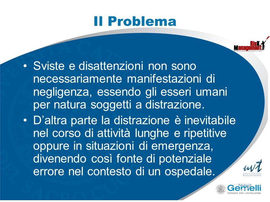 Il ProblemaSviste e disattenzioni non sono necessariamente manifestazioni di negligenza, essendo gli esseri umani per natura soggetti a distrazione.