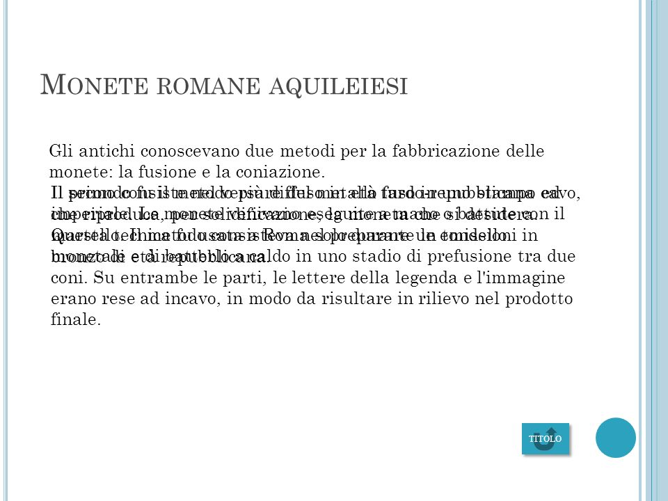 Monete romane aquileiesi