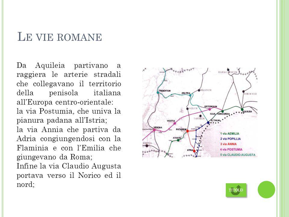 Le vie romane