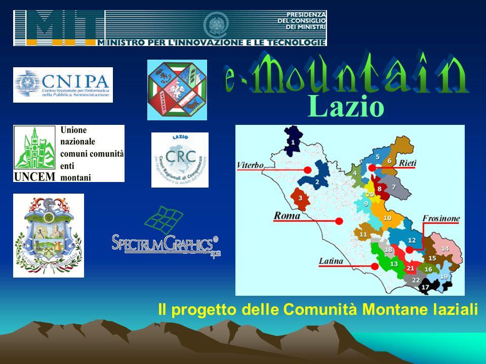 m u t i n a n e - o Lazio Il progetto delle Comunità Montane laziali