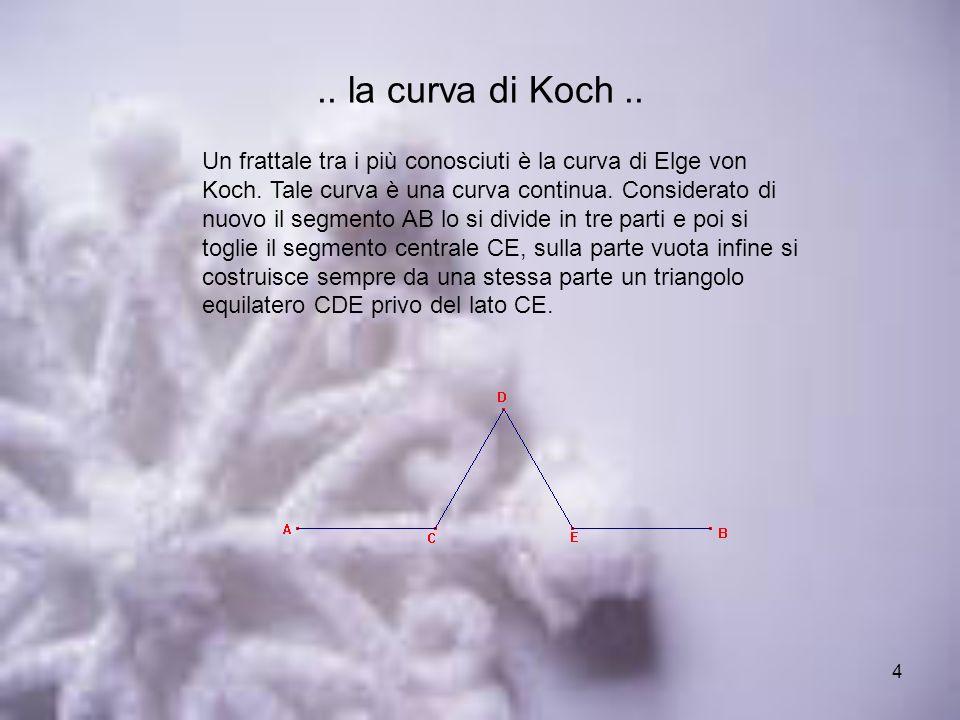 .. la curva di Koch ..