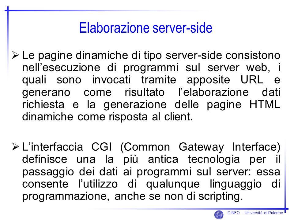 Elaborazione server-side