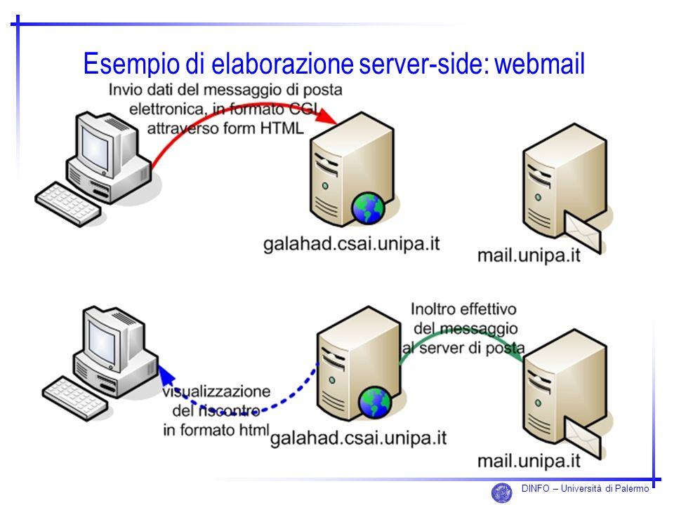 Esempio di elaborazione server-side: webmail