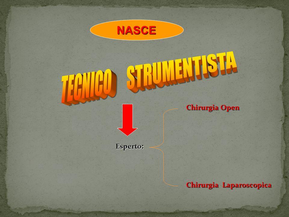 TECNICO STRUMENTISTA NASCE Chirurgia Open Esperto: