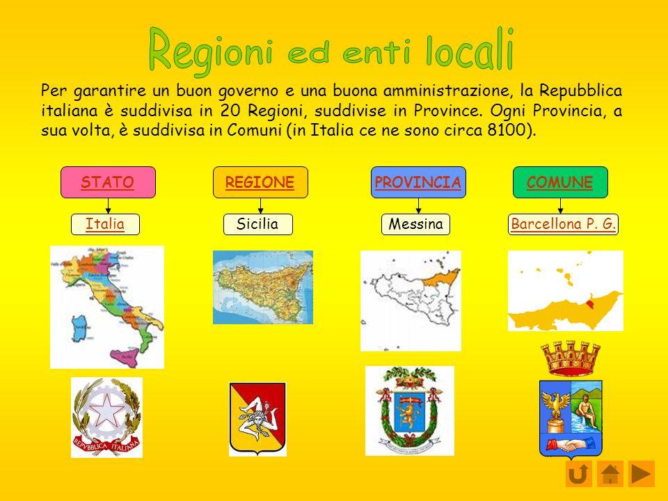 Regioni ed enti locali
