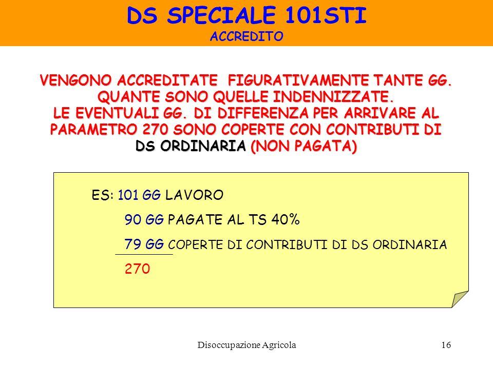 DS SPECIALE 101STI VENGONO ACCREDITATE FIGURATIVAMENTE TANTE GG.