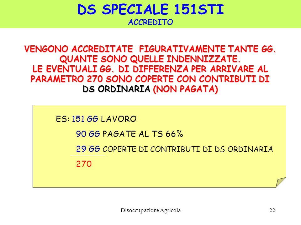 DS SPECIALE 151STI VENGONO ACCREDITATE FIGURATIVAMENTE TANTE GG.