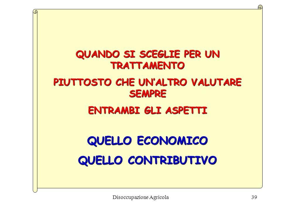 QUELLO ECONOMICO QUELLO CONTRIBUTIVO