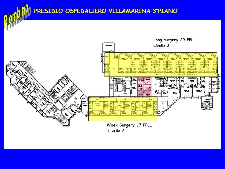 PRESIDIO OSPEDALIERO VILLAMARINA 3°PIANO