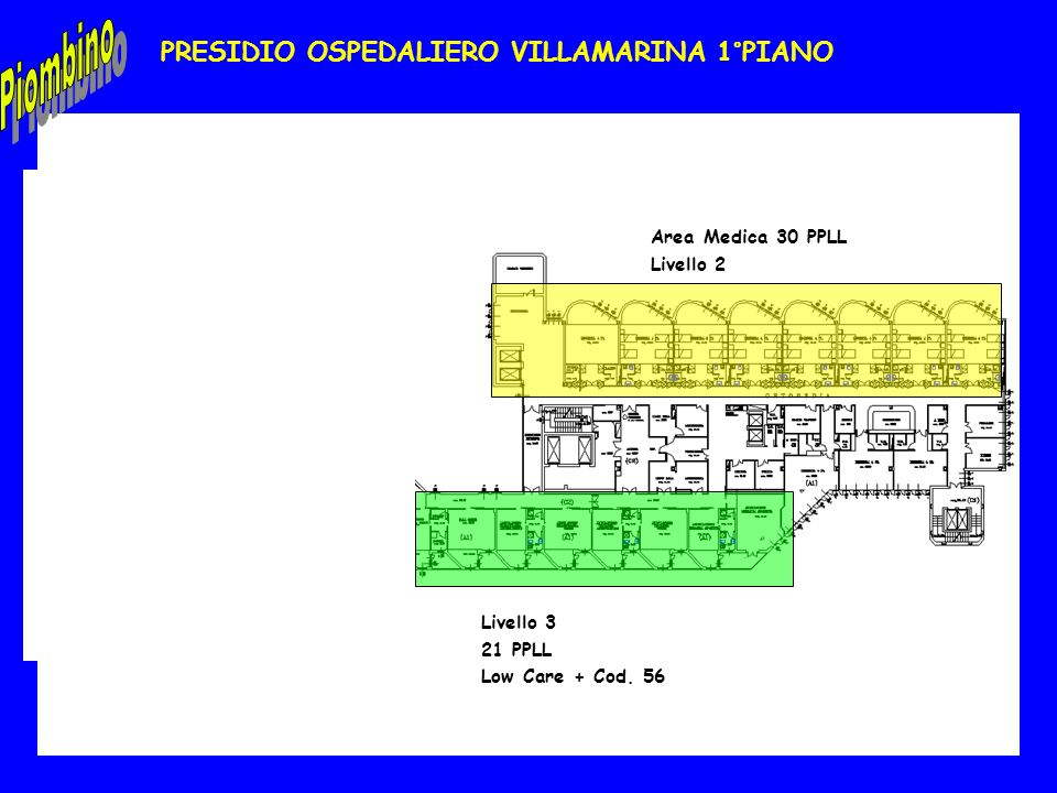 PRESIDIO OSPEDALIERO VILLAMARINA 1°PIANO