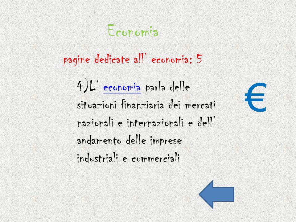Economia pagine dedicate all' economia: 5