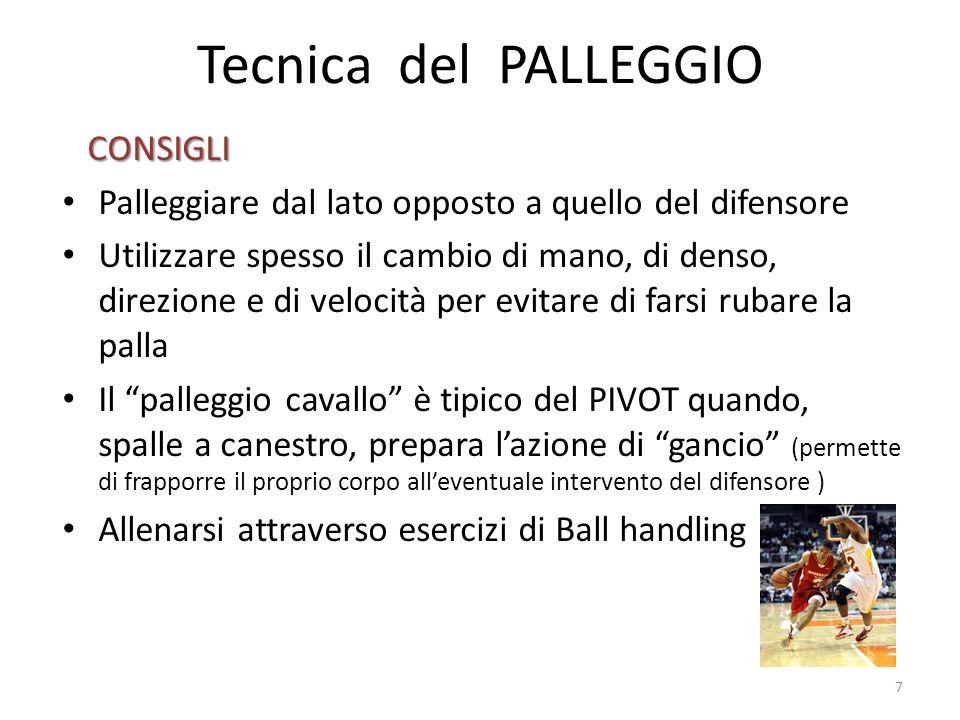 Tecnica del PALLEGGIO CONSIGLI