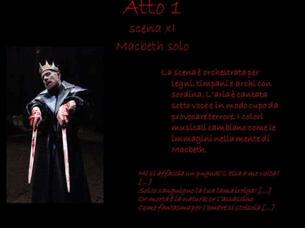 Atto 1 scena xI Macbeth solo