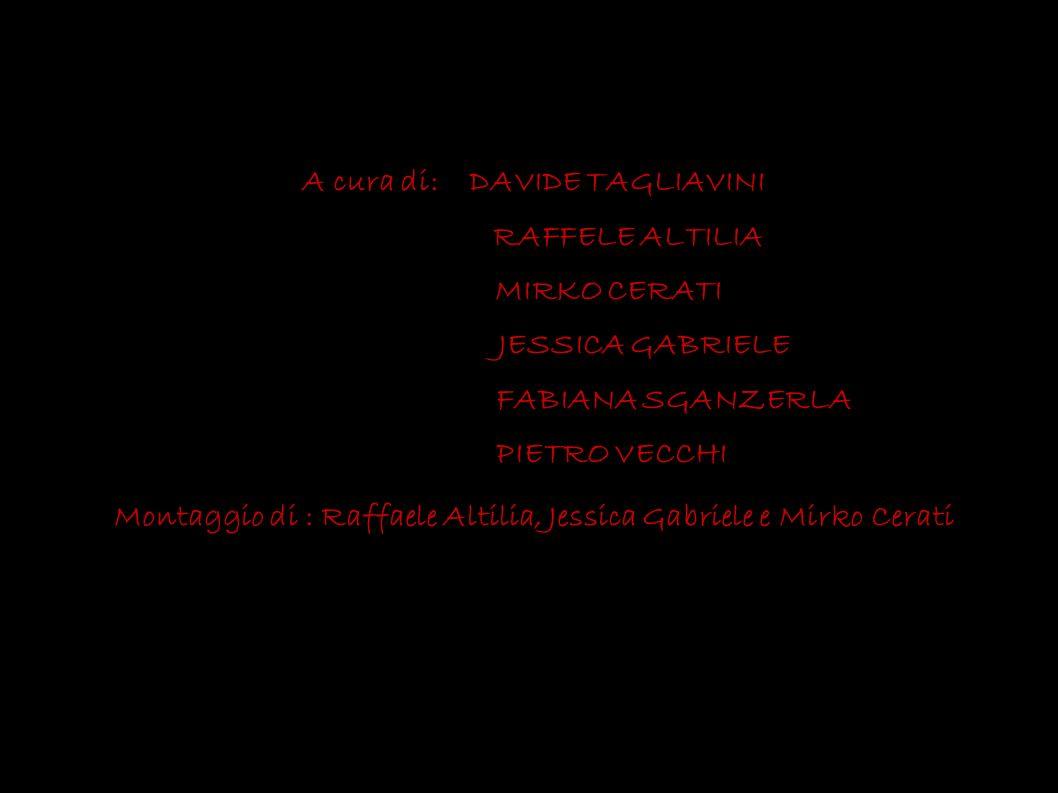 A cura di: DAVIDE TAGLIAVINI RAFFELE ALTILIA MIRKO CERATI