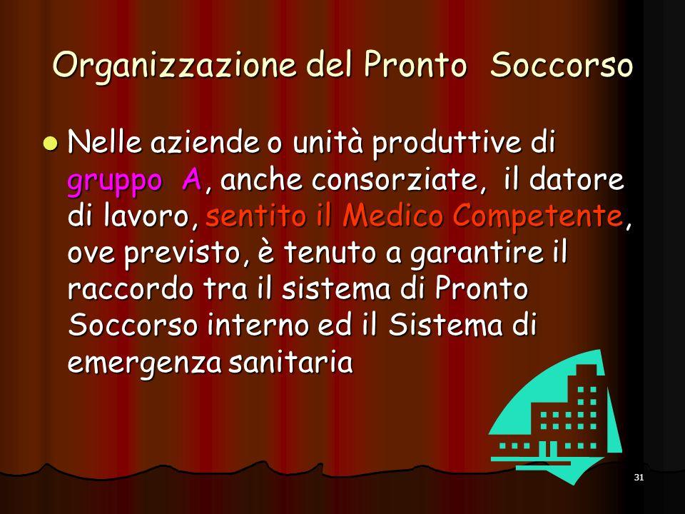 Organizzazione del Pronto Soccorso