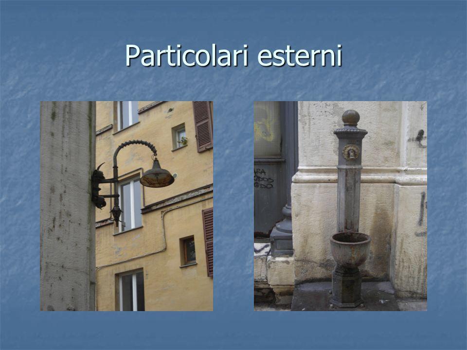 Particolari esterni